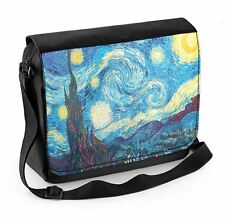 Vincent Van Gogh Starry Night Laptop Messenger Bag