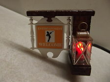 VINTAGE 1971 GENERAL ELECTRIC ENTERTAINMENT WELCOME NIGHT LIGHT WORKS