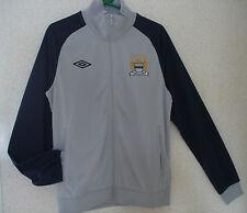 UMBRO MCFC Track Jacket Football Soccer Tracksuit Jacket Size Medium