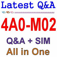 Alcatel-Lucent Mobile Gateways for the LTE Evolved 4A0-M02 Exam Q&A PDF+SIM