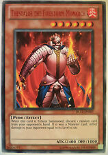 YUGIOH THESTALOS THE FIRESTORM MONARCH DL12-EN007 DUELIST LEAGUE RED RARE