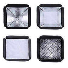 "24"" 60cm Softbox Honeycomb Grid f flash Speedlite Bowens Elinchrom Mount Bracket"