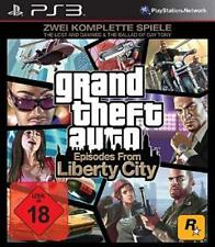 Playstation 3 Grand theft Auto GTA episodes from Liberty City * NOUVEAU
