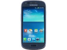 Samsung Galaxy S3 Mini G730a Blue 8GB 4G LTE AT&T Branded Unlocked GSM Cell Phon