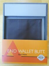 ALL-ETT  Allett Leather Sport Wallet 20202, Brown - Brand New