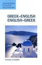 Greek-English English-Greek Concise Dictionary by Michael Kambas (2003)^