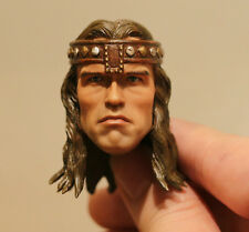 Custom made Arnold Schwarzenegger Conan the Barbarian the destroyer 1/6 HEAD