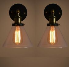 Pair of Retro Vintage Industrial Wall Lamp Sconce Fixture Light Decor Light New
