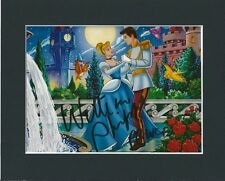 WILLIAM BILL PHIPPS DISNEY CINDERELLA HAND SIGNED MOUNTED AUTOGRAPH PHOTO 10X8