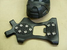SHOE GRIPPERS Set.. Large Size.. 10 Studs.. falling slip feet steel magic Safety
