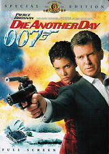 James Bond 007 Die Another Day (2002) Pierce Brosnan - Halle Berry. DVD