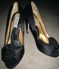 BADGLEY MISCHKA FRANK BLACK PLATFORM PUMP SZ 9-NEW
