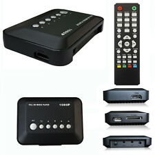 HD 1080P USB Disco Duro Mejora Multi Media Player MKV AVI RMVB Nuevo Corriente