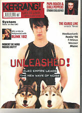KERRANG #898 ALEC EMPIRE:BLINK 182:THE ICARUS LINE:MUSE:PAPA ROACH:CHILI PEPPERS