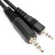 50cm 2.5mm Stereo Mini Jack to 3.5mm Midi Jack Cable 3 Pole Audio AUX Lead D1807