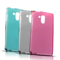 Acer Liquid Z 500 Semi Transparent Frosted TPU Soft Back Protection Cover Case