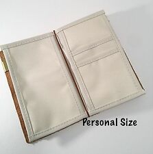 Personal Size Card Holder Insert For Midori Travelers Notebook, Oxford Cloth