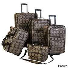 American Flyer Argyle Collection Luggage Set - 3 Piece Set - NEW