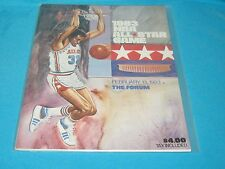 RARE FEBRUARY 13, 1983 NBA ALL STAR GAME PROGRAM FORUM LARRY BIRD MAGIC JOHNSON