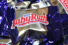 Nestle Baby Ruth Milk Chocolate Fun Size Candy Bars 1 Pound - FREE SHIPPING