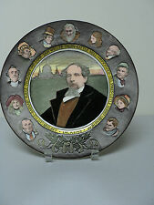 VINTAGE ROYAL DOULTON COLLECTIBLE PLATE, CHARLES DICKENS D6306 SERIES WARE