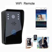 WiFi sans fil portier vidéo Bell téléphone moniteur interphone visuel Smart Neuf