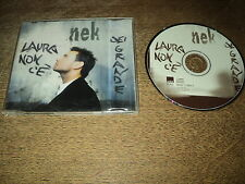 NEK MAXI CD GERMANY LAURA NON C'E