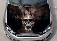 Trivium Skull Car Hood Wrap Color Vinyl Sticker Decal Fit Any Car