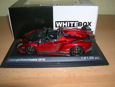 Whitebox Lamborghini Veneno Roadster (2013) rot red 1:43