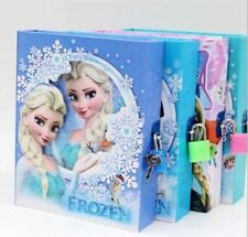 Frozen Anna & Olaf Childrens Diary with Lock - Brilliant Gift!!