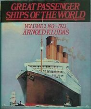 GREAT PASSENGER SHIPS OF THE WORLD 1913-1923, 1976 BOOK (MAJESTIC CVR