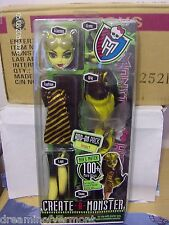 MONSTER HIGH Doll Create-a-Monster Bee New in Box