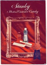Vtg 1964 STANLEY Hostess Customer Catalog Brushes Cosmetics Cleaners STANHOME