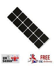 Self Adhesive Felt Pads Black Sticky Tabs Wood Floor Scratch Furniture Protector