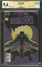 Batman #405 CGC 9.6 SS Signed Frank Miller Year One Part 2 DC Comics Movie NM+