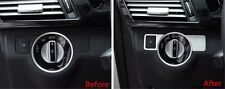 Head Light Switch Button Cover Trim for Mercedes Benz B Class W246 2012-2015 LHD