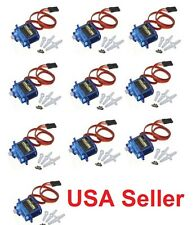 10pcs x 9G SG90 Mini Micro Servo For RC Robot Helicopter Airplane Car Boat