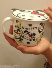 Hello Kitty Panda Cup and Lid