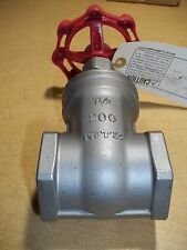 "NEW Kitz S14A 1-1/2"" 200 Gate Valve 316 SS Stainless Steel *FREE SHIPPING*"