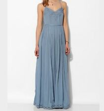 Kimchi Blue Maxi Dove Crinkle Gauze Dress Blue Urban Outfitters 4