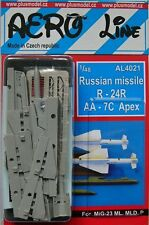 Plus Model Aero Line 4021 1/48 Russian missile R-24R AA-7C Apex (2 pcs.)