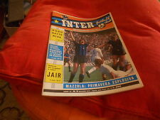 CALCIO  RIVISTA    INTER  FOOTBALL  CLUB     NR  5   MAGGIO    1971
