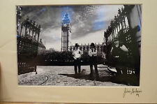 MOUNTED LONDON PHOTOS - PARLIAMENT (2) - SIGNED BY PHOTOGRAPHER JULIAN ANDREWS