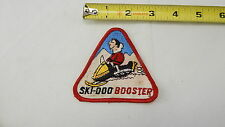 SKI DOO BOOSTER SNOWMOBILE SNOW MACHINE Vintage Sew on Patch For Jacket or Hat