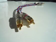 Kimber Kable PBJ stereo RCA NF-Cavo Connettori placcati in oro 0,25m