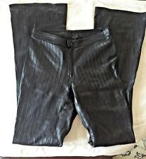 Gucci Black Leather pants SZ 40 US 4