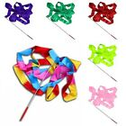 10 Colors & 4 M Gym Dance Ribbon With Rhythmic Stick New Twirling Rod Gymnastic