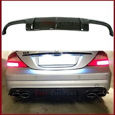 Carbon Fiber Rear Diffuser Fit BENZ 2006-10 W219 CLS55 CLS63 AMG Bumper Body Lip