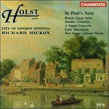 Holst: St. Paul's Suite, New Music