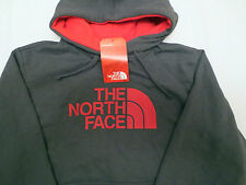 The North Face HALF DOME HOODIE Sweatshirt AAZZ0T5 GREY RED Mens SIZE SMALL S